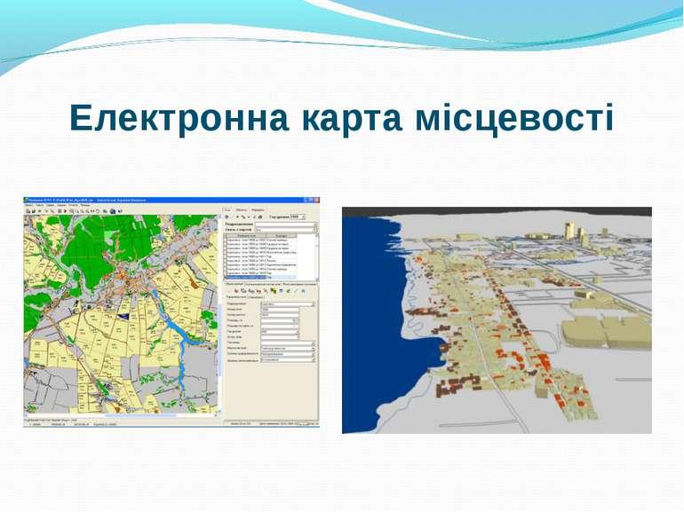 Електронна карта місцевості