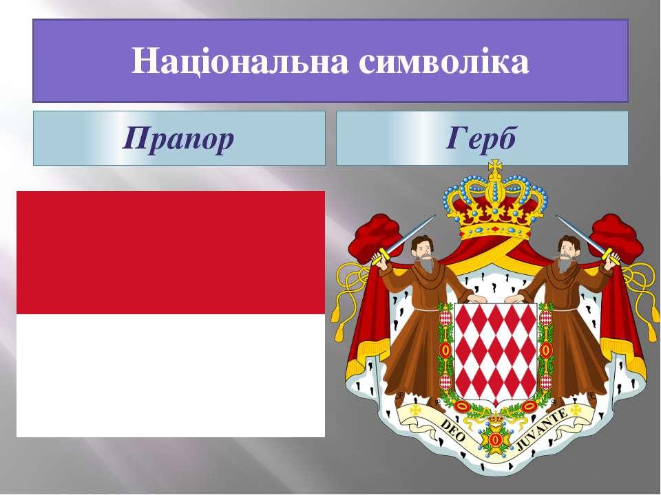 Національна символіка Прапор Герб