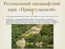 Регіональний ландшафтний парквУкраїні, в межахНовобузького районуМиколаїв...