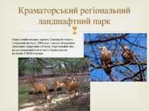 Краматорський регіональний ландшафтний парк Один із наймолодшихпарківуДоне...