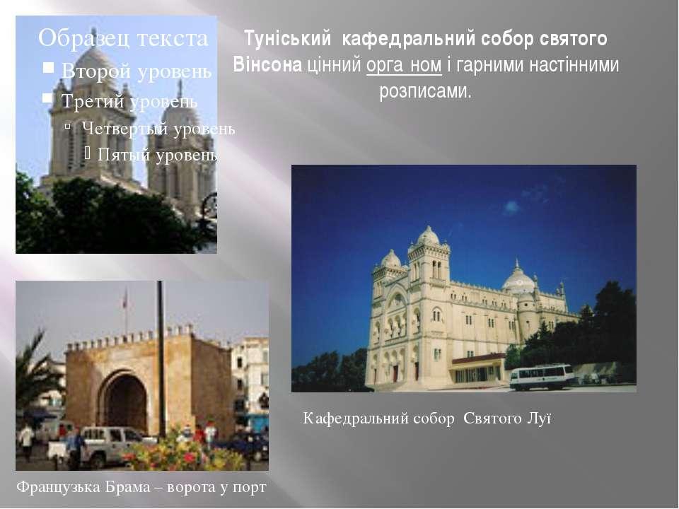 Туніський кафедральний собор святого Вінсона ціннийорга номі гарниминастін...