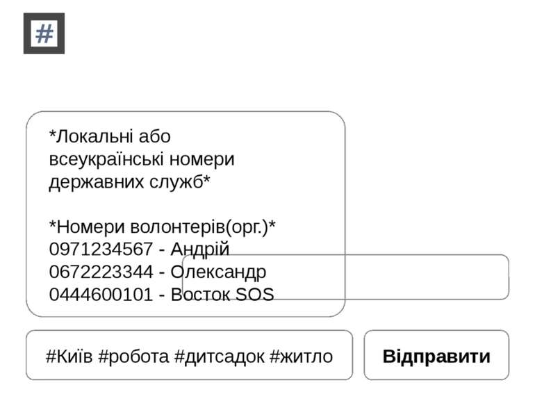 #Київ #робота #дитсадок #житло Відправити *Локальні або всеукраїнські номери ...