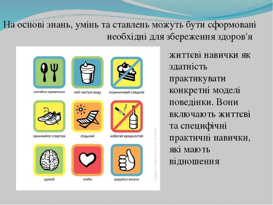 На основі знань, умінь та ставлень можуть бути сформовані необхідні для збере...
