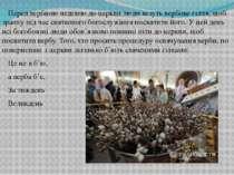 Перед вербною неділею до церкви люди везуть вербове гілля, щоб зранку під час...