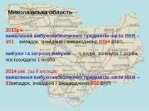 Миколаївська область 2013рік виявлення вибухонебезпечних предметів часів ВВВ ...