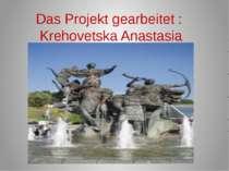 Das Projekt gearbeitet: Krehovetska Anastasia