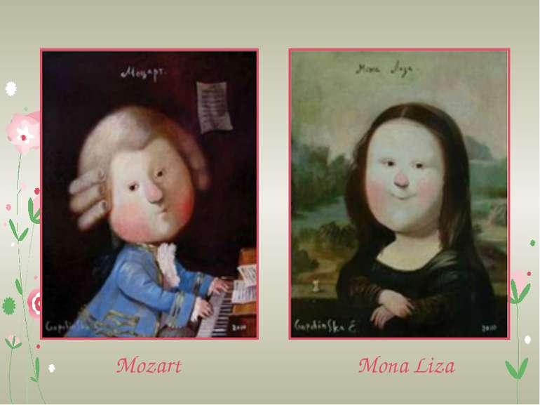 Mozart Mona Liza