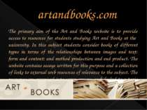 artandbooks.com The primary aim of the Art and Books website is to provide ac...