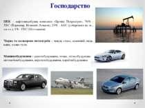 Господарство ПЕК – нафтовидобувна компанія «Брічіш Петроліум», 76% - ТЕС (Йор...