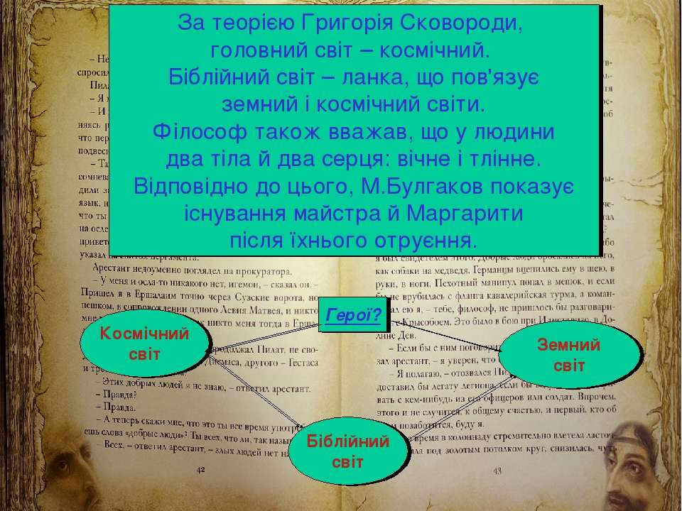 М.Кононов © 2009 E-mail: mvk@univ.kiev.ua * За теорією Григорія Сковороди, го...