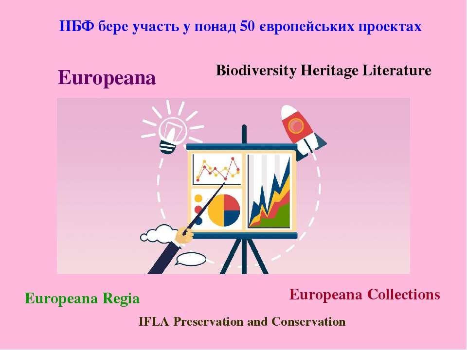 НБФ бере участь у понад 50 європейських проектах Europeana Biodiversity Herit...