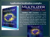 Multilizer PDF Translator is a small Windows application that translates docu...