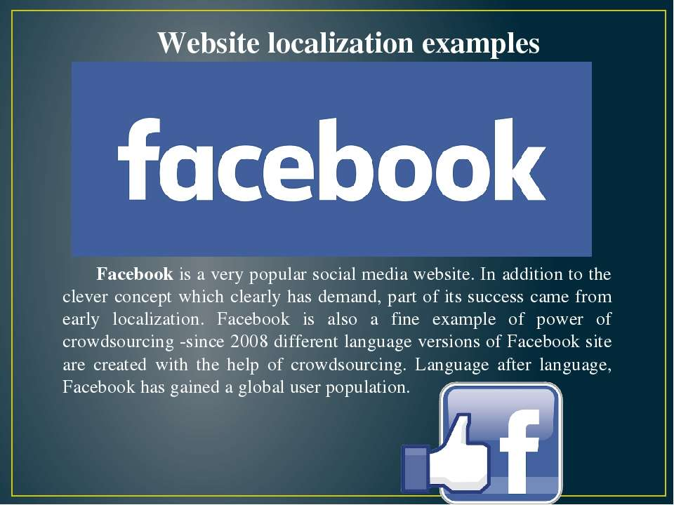 Facebook is a very popular social media website. In addition to the clever co...