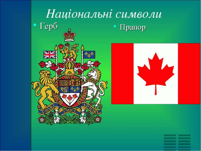 Національні символи Прапор Герб