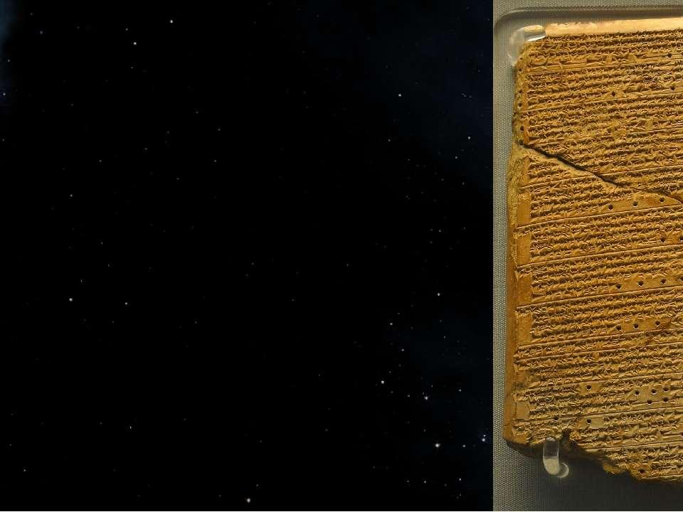 Перші письмові свідчення про астрономічні спостереження містять шумерські гли...