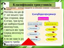 Класифікація - розподіл предметів за спільними ознаками з утворенням певної с...