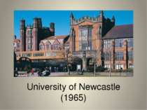 University of Newcastle (1965)