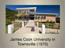 James Cook University in Townsville (1970)