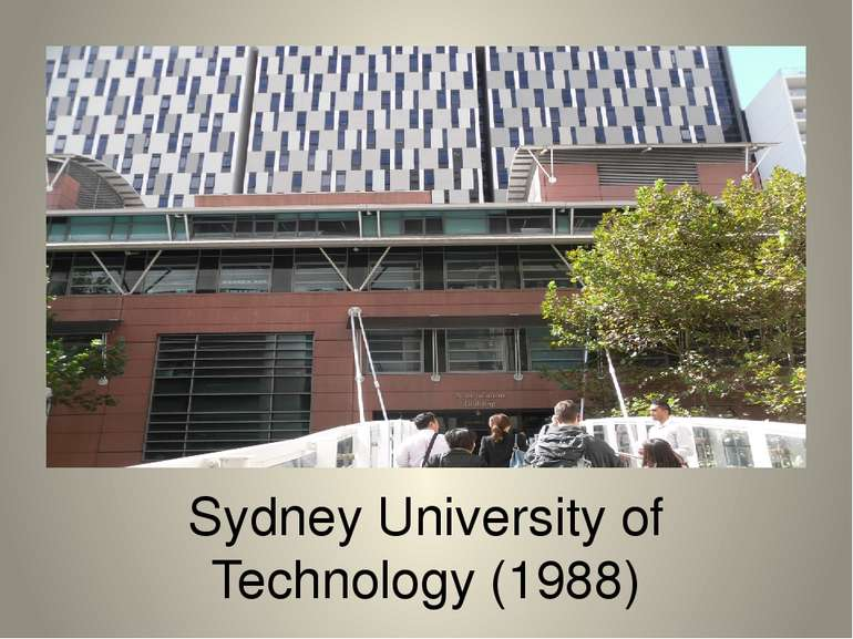 Sydney University of Technology (1988)