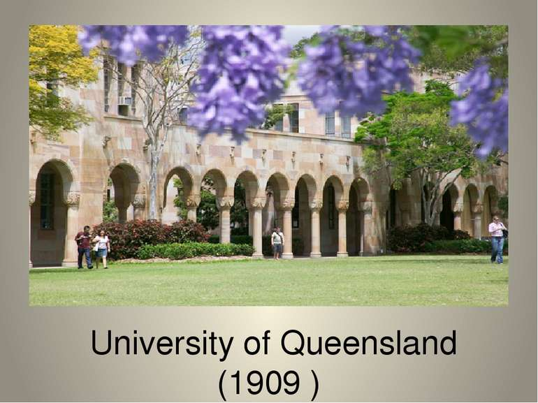 University of Queensland (1909 )
