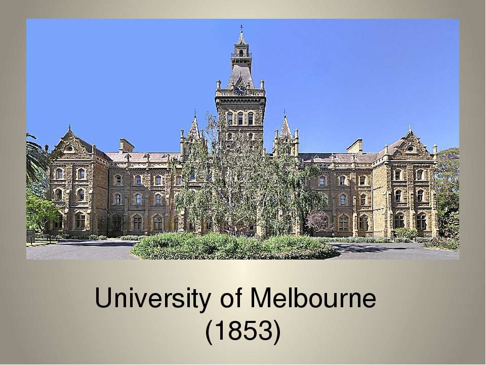 University of Melbourne (1853)