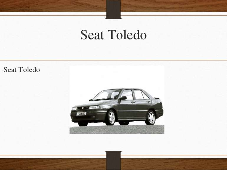Seat Toledo Seat Toledo