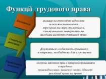 Функції трудового права впливає на економічні відносини шляхом встановлення м...