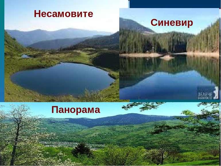 Синевир Несамовите Панорама