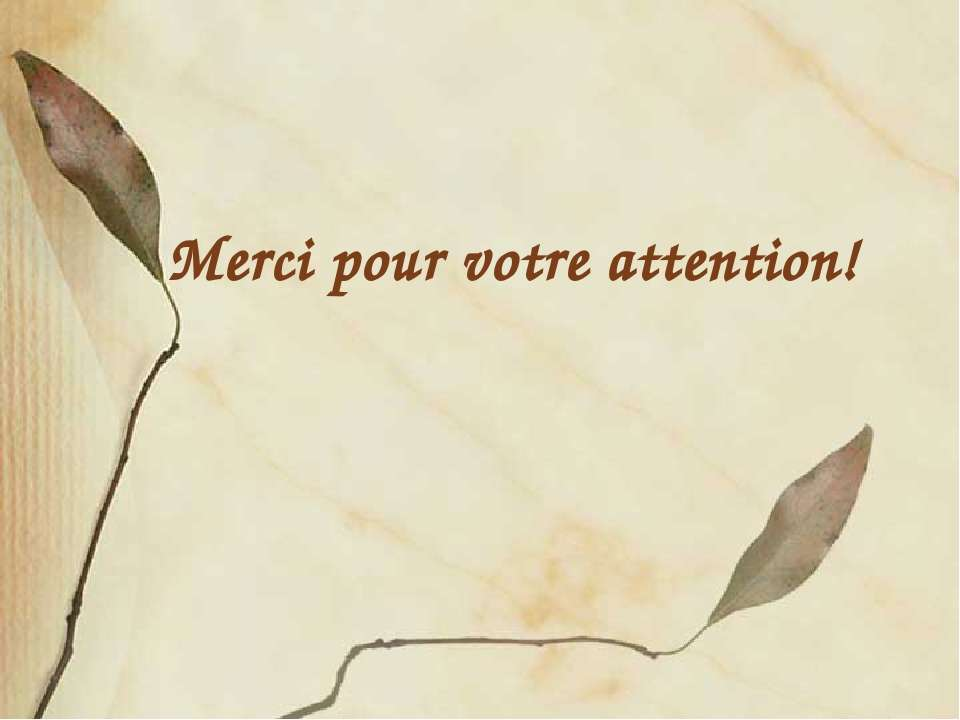 Merci pour votre attention! FokinaLida.75@mail.ru