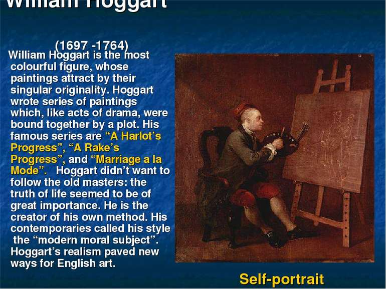 William Hoggart (1697 -1764) William Hoggart is the most colourful figure, wh...