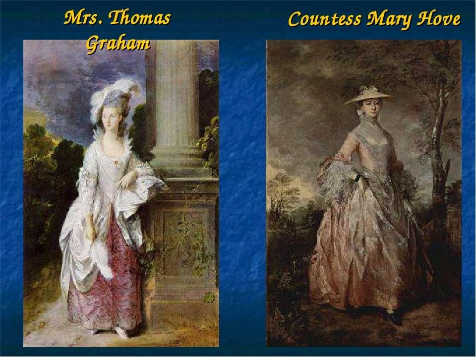 Countess Mary Hove Mrs. Thomas Graham