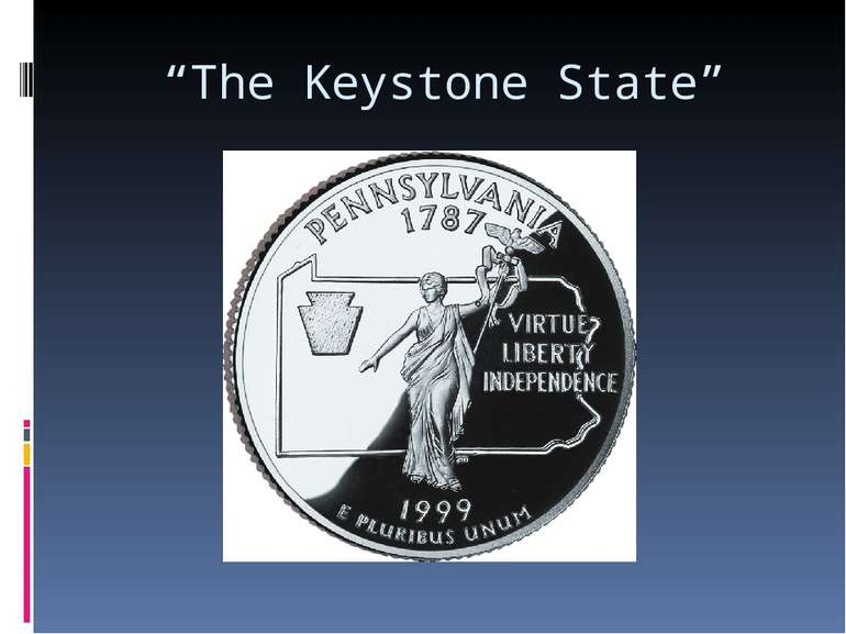 """The Keystone State"""