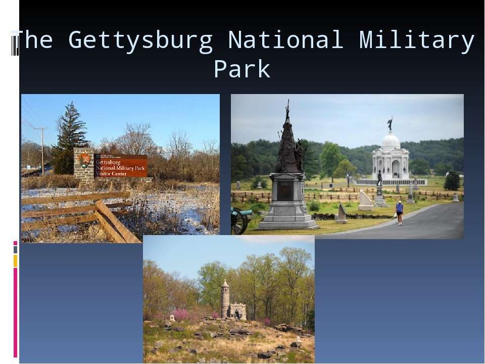 The Gettysburg National Military Park