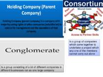 Is a group consisting of a lot of different companies in different businesses...