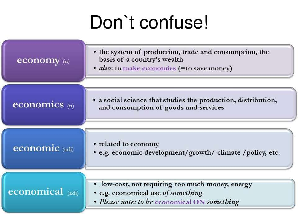 Don`t confuse!