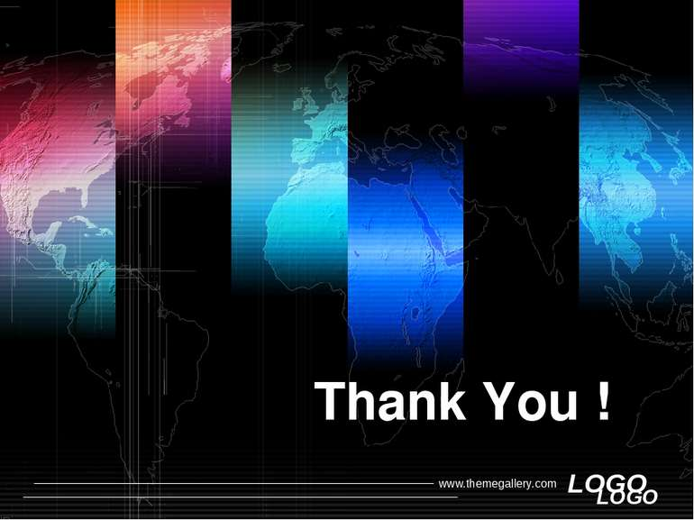 Thank You ! LOGO www.themegallery.com LOGO