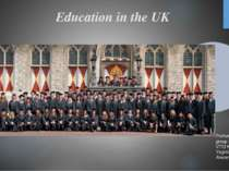 Education in the UK Performed student group GRS-12 d VTEI KNTUE Yagnich Taras...