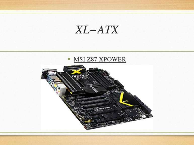 XL−ATX MSIZ87XPOWER