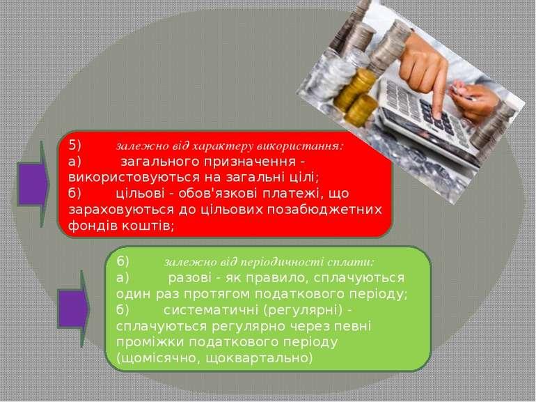 5)залежно від характеру використання: а) загального призначен...