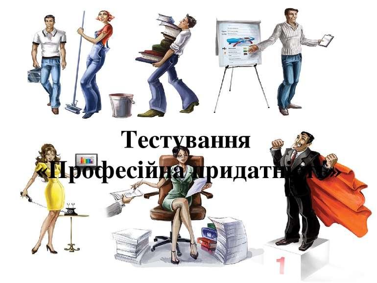 Тестування «Професійна придатність»