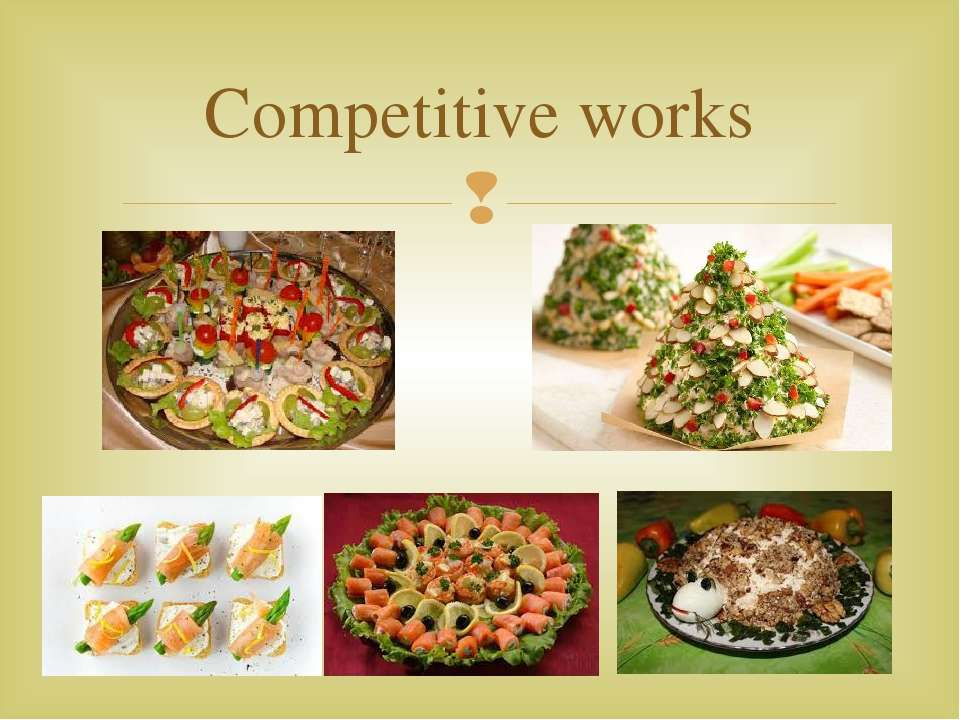 Competitive works