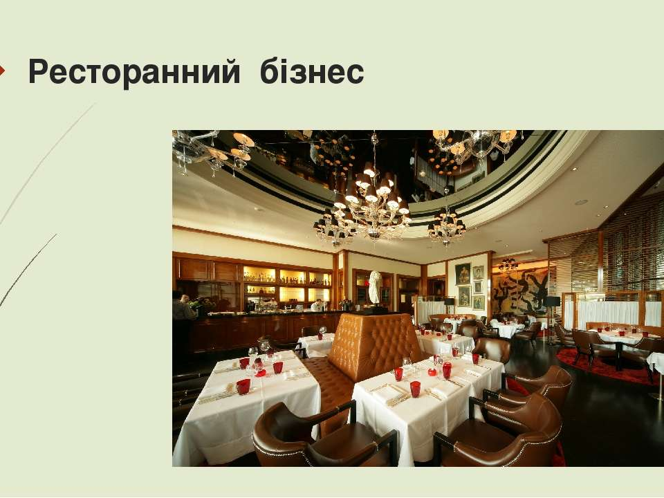 Ресторанний бізнес