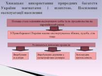 Хижацьке використання природних багатств України магнатами і шляхтою. Посилен...