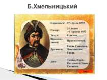 Б.Хмельницький