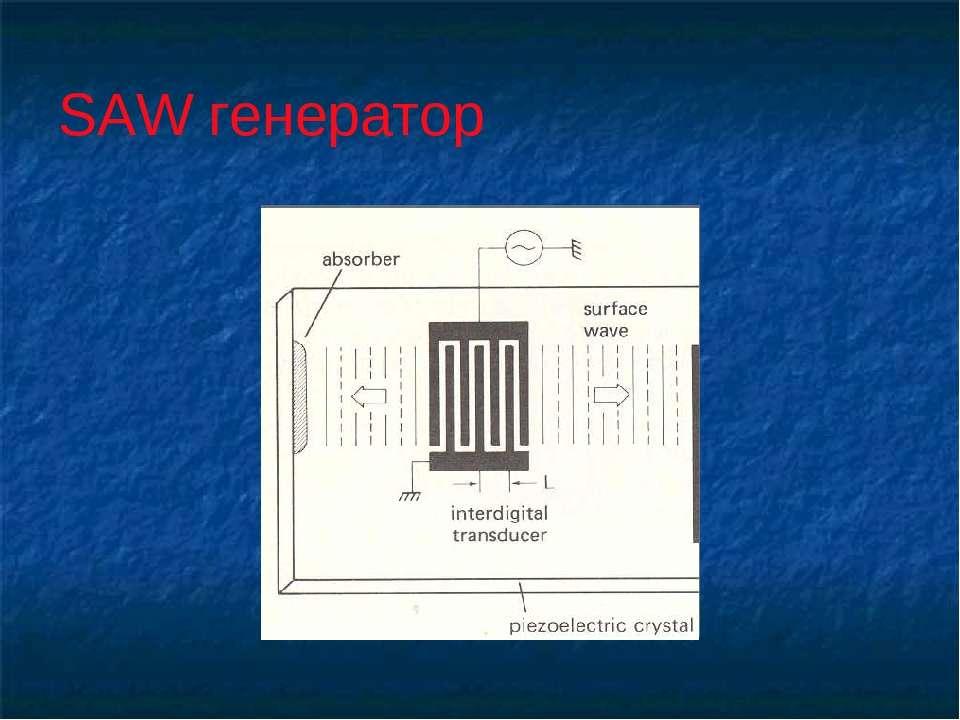 SAW генератор
