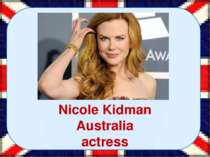 Nicole Kidman Australia actress