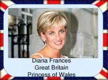 Diana, Princess of Wales(Diana Frances;néeSpencer Diana Frances Great Brit...