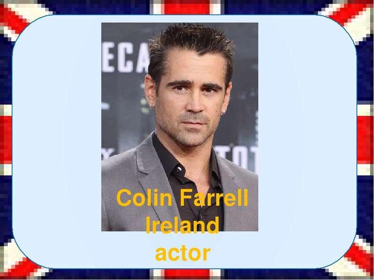 Colin Farrell Ireland actor