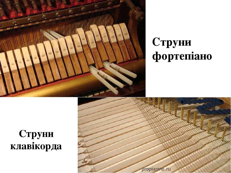 Струни фортепіано Струни клавікорда