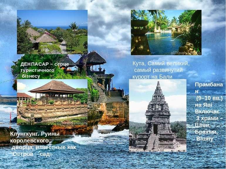 ДЕНПАСАР – серце туристичного бізнесу Клунгкунг. Руины королевского дворца, и...